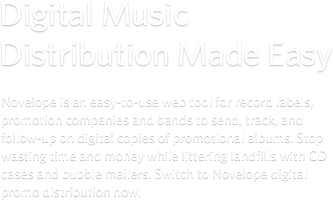 Digital Music Distribution Made Easy